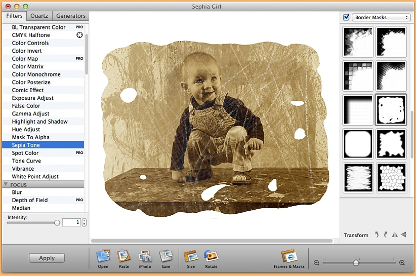 Free photo editing software interface