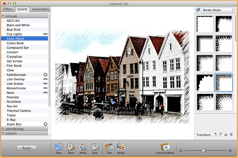 Image editing app for Mac